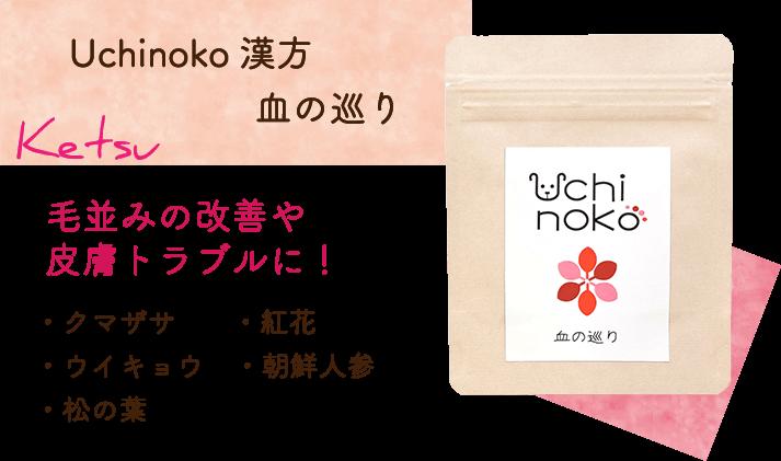 Uchinoko漢方 血の巡り