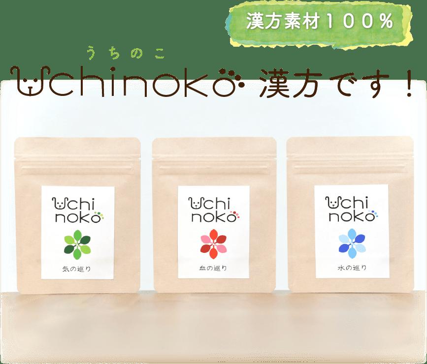 Uchinoko漢方です!